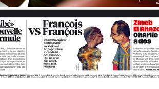 Reportagem do jornal francês Libération sobre a queda de braço entre a França e o Vaticano.