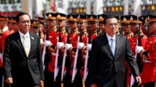 Thủ tướng Trung Quốc Lý Khắc Cường thăm Thái Lan ngày 05/09/2019.