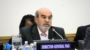 O diretor-geral da FAO (Organização das Nações Unidas para Agricultura e Alimentação), o brasileiro José Graziano da Silva.
