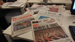 Diarios franceses  19.12.2018