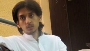 Le journaliste saoudien Hamza Kashgari.