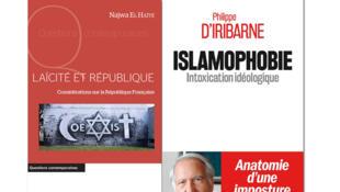 «Laïcité et République», de Najwa El Haïté et «Islamophobie», de Philippe d'Iribarne.