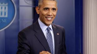 Obama na última coletiva como presidente