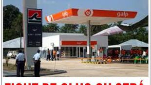 Bom de gasolina Petromar/Galp em Bissau