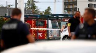 Спасательная операция в пригороде Лиона