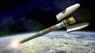 The Gaia telescope was launched by a Soyuz-STB-Fregat rocket