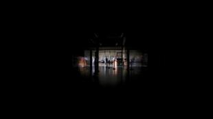 Thủ đô Caracas và nhiều thành phố Venezuela lại chìm trong bóng tối mênh mông. Ảnh chụp ngày 25/03/2019.
