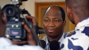 L'ex-ministre des Affaires étrangères burkinabè Djibrill Bassolé, à Ouagadougou, en juin 2013.
