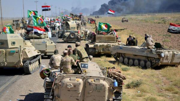 伊拉克政府軍10月初進軍哈維加