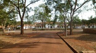 Vue de l'Université du Ghana à Accra en 2012.