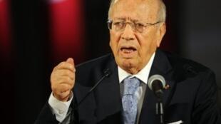 Béji Caïd Essebsi, líder de Nida Tunes.