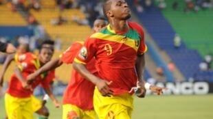 Le Guinéen Sadio Diallo a réussi un doublé face au Botswana.