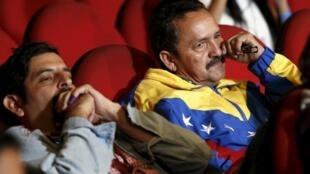Elections législatives au Venezuela: l'amertume des vaincus, les partisans du PSUV de Nicolas Maduro.