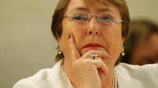 Michelle Bachelet jami'ar MDD