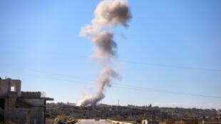 L'aviation russe a mené plus de 70 raids sur Idleb en Syrie jeudi 5 décembre 2019.
