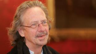 L'écrivain autrichien Peter Handke un des prix Nobel de littérautre 2019.