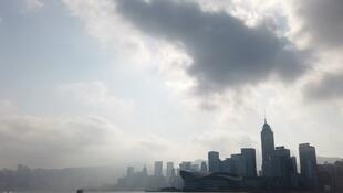 Clouds over Hong Kong, but maybe there's a silver lining