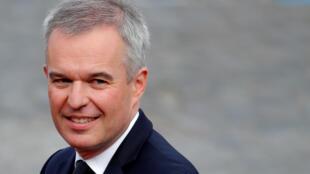 Ông François de Rugy từ chức bộ trưởng Môi Trường Pháp ngày 16/07/2019.