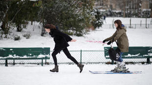 Франция готовится к «сибирским» холодам