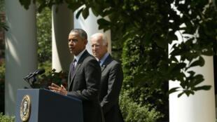 Tổng thống Barack Obama thông báo tái lập bang giao với Cuba. Ảnh ngày 01/07/2015.