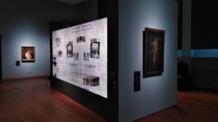 The exhibition at the Martin Gropius Bau museum