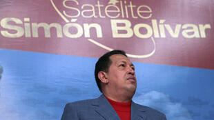 The Simon Bolivar communications satellite was launched in 2008 during the presidency of late Venezuelan leader Hugo Chavez (1999-2013)