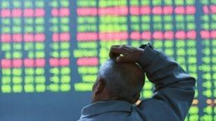 中國股市遭遇黑色周一