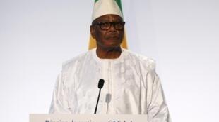 Le président malien, Ibrahim Boubacar Keita, le 13 décembre 2017