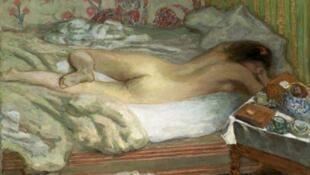 """La siesta"" de Pierre Bonnard (1900)"