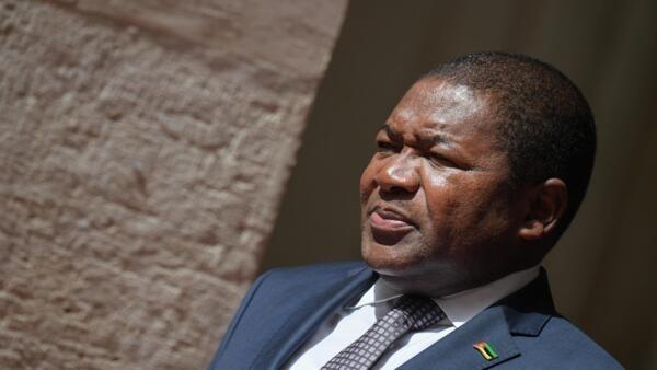 O Presidente de Moçambique, Filipe Nyusi. Imagem de arquivo.