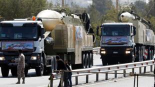 Tên lửa mới Khoramshahr của Iran có tầm bắn 2.000 km