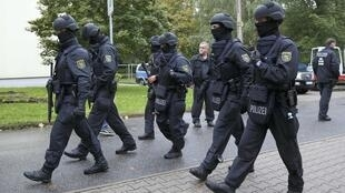 Fuerzas especiales alemanas, octubre de 2016.