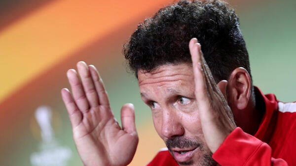 Diego Simeone has been manager at Atletico Madrid since 2011.