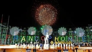 Cérémonie d'ouverture des Jeux de la Francophonie.