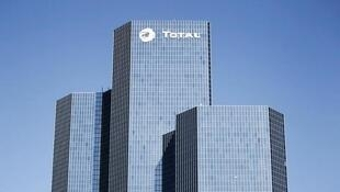 Total headquarters in La Défense near Paris