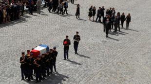 圖為法國為西蒙娜·韋依舉行隆重國葬 馬克龍決定將西蒙娜·韋依葬於先賢祠