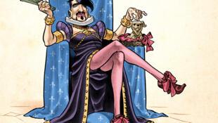 La nouvelle bande dessinée de Richard Guérineau, «Henriquet l'homme reine».