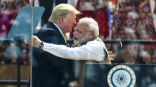 美國總統特朗普2020年2月24日訪問印度