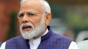 Le Premier ministre indien Narendra Modi à New Delhi le 18 novembre 2019.