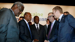 A quinta cimeira UA-UE terminou a 30 de Novembro de 2017 em Abidjan.