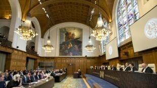 Заседание Международного суда ООН в Гааге, апрель 2019 г.
