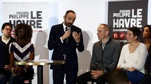 Le Premier ministre Edouard Philippe se présente aux élections municipales au Havre.
