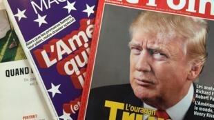 O avanço de Donald Trump nas primárias republicanas ganha destaque nas revistas da semana.