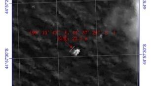Tìm kiếm máy bay Malaysia mất tích: Vệ tinh Trung Quốc, ngày 18/03/2014, phát hiện vật thể lạ ở phía nam Ấn Độ Dương