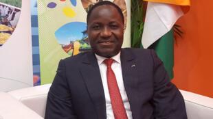 Mamadou Sangafowa Coulibaly, ministre ivoirien de l'Agriculture et du Développement Rural.