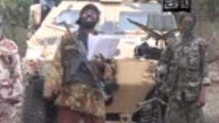Boko Haram, nhóm hồi giáo vũ trang Nigeria thân Al Qaeda (Video Boko Haram - AFP)