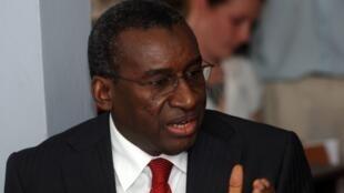 Sidiki Kaba, ministre sénégalais de la Justice (ici en mars 2011).