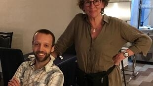Françoise Wallemacq et Christophe Bernard.