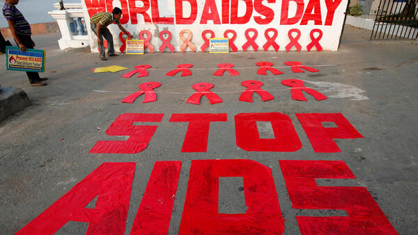 Dr Bala Sani Garko na Jami'ar Ahmadu Bello da ke Zaria kan taron yaki da cutar HIV Aids a Holland