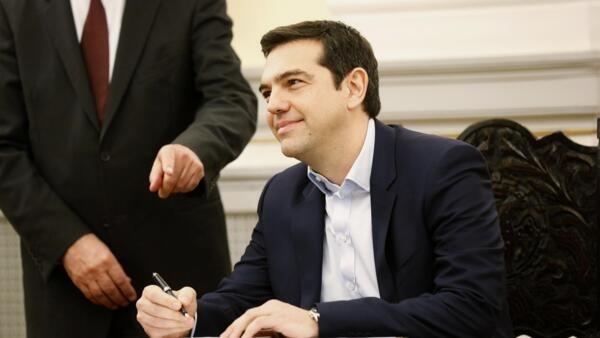 Alexis Tsipras, nouveau chef du gouvernement grec.
